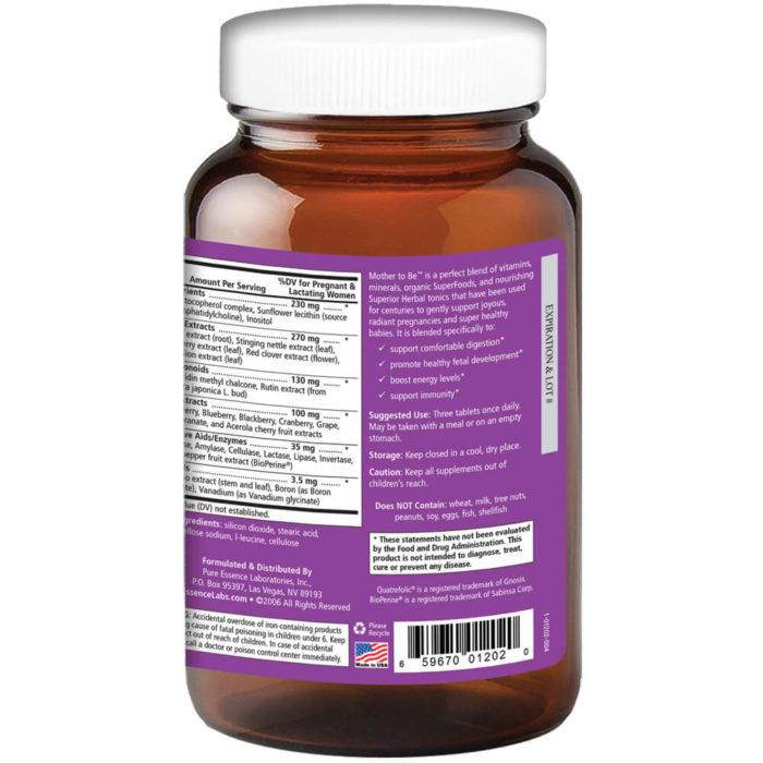 Mother to Be™ – Prenatal Multivitamin 60 Vegi-Caps - Christopher's Herb Shop