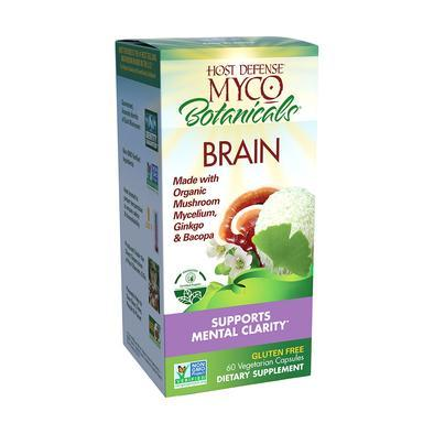 MycoBotanicals® Brain - 60 Vegetarian Capsules - Christopher's Herb Shop