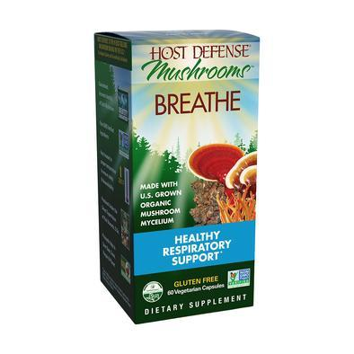 Host Defense® Breathe - 60 Vegetable Capsules - Christopher's Herb Shop
