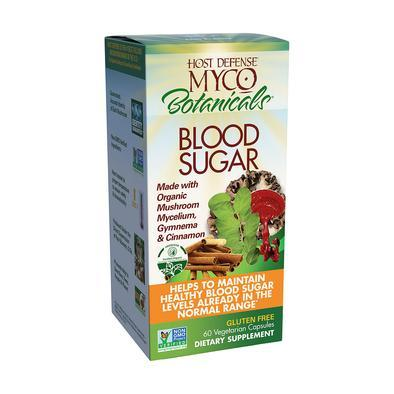 MycoBotanicals® Blood Sugar - 60 Vegetarian Capsules - Christopher's Herb Shop