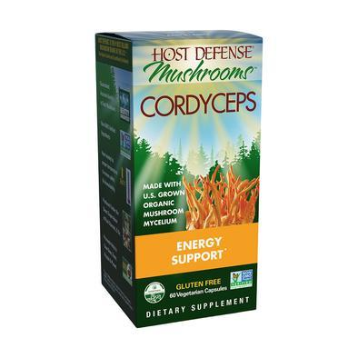 Host Defense® Cordyceps - 60 Vegetarian Capsules - Christopher's Herb Shop