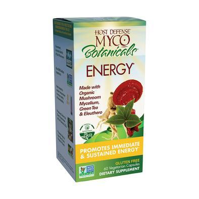 MycoBotanicals® Energy - 60 Vegetarian Capsules - Christopher's Herb Shop