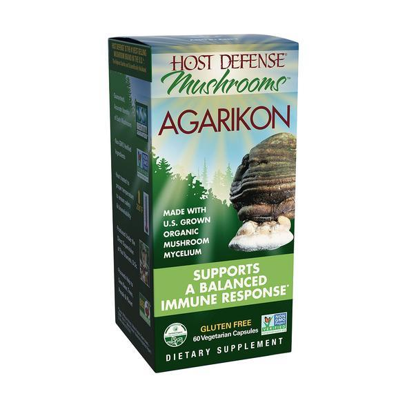 Host Defense® Agarikon - 60 Vegetarian Capsules - Christopher's Herb Shop