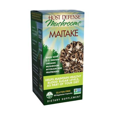 Host Defense® Maitake - 60 Vegetarian Capsules - Christopher's Herb Shop