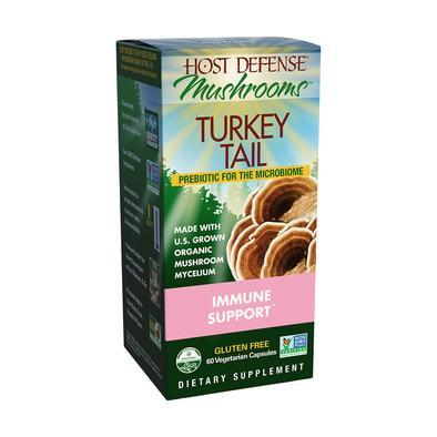 Host Defense® Turkey Tail - 60 Vegetarian Capsules - Christopher's Herb Shop