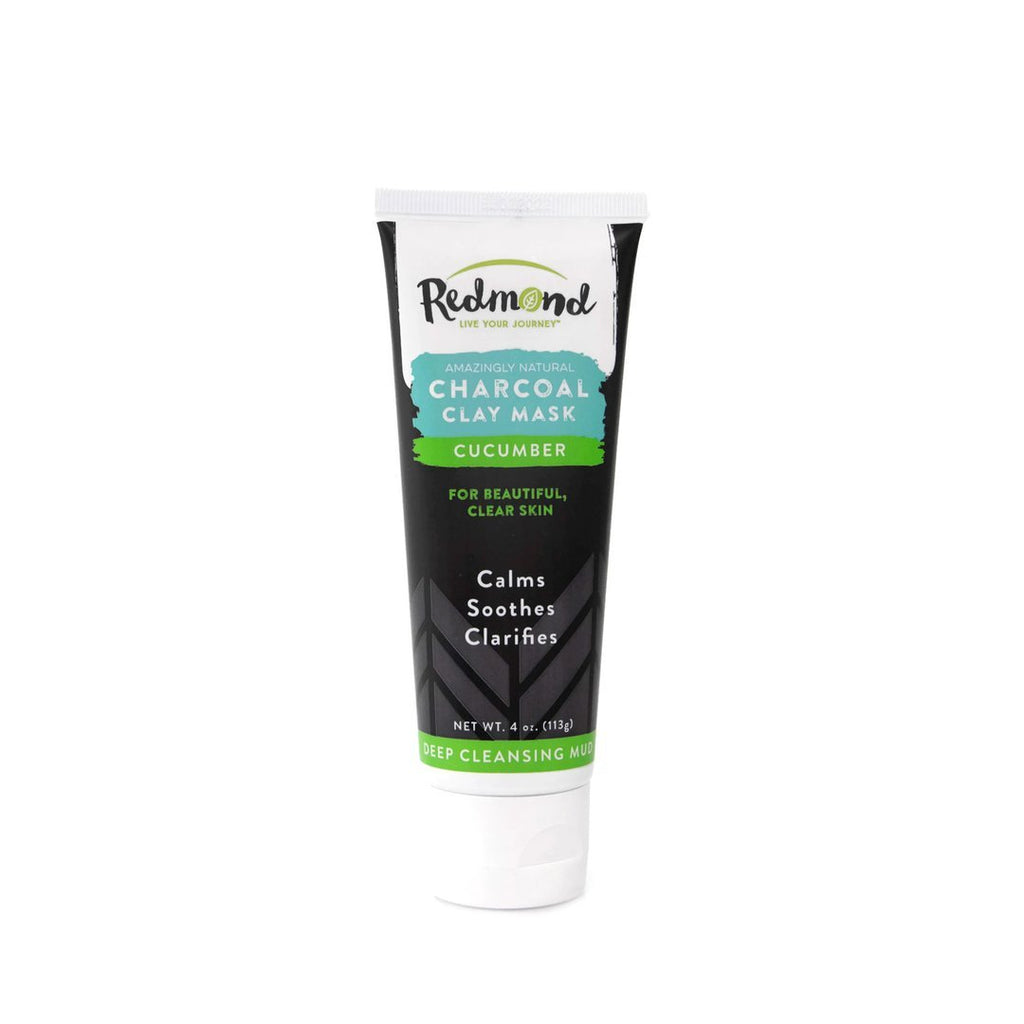 Facial Mud Charcoal Clay Mask Cucumber - Christopher's Herb Shop