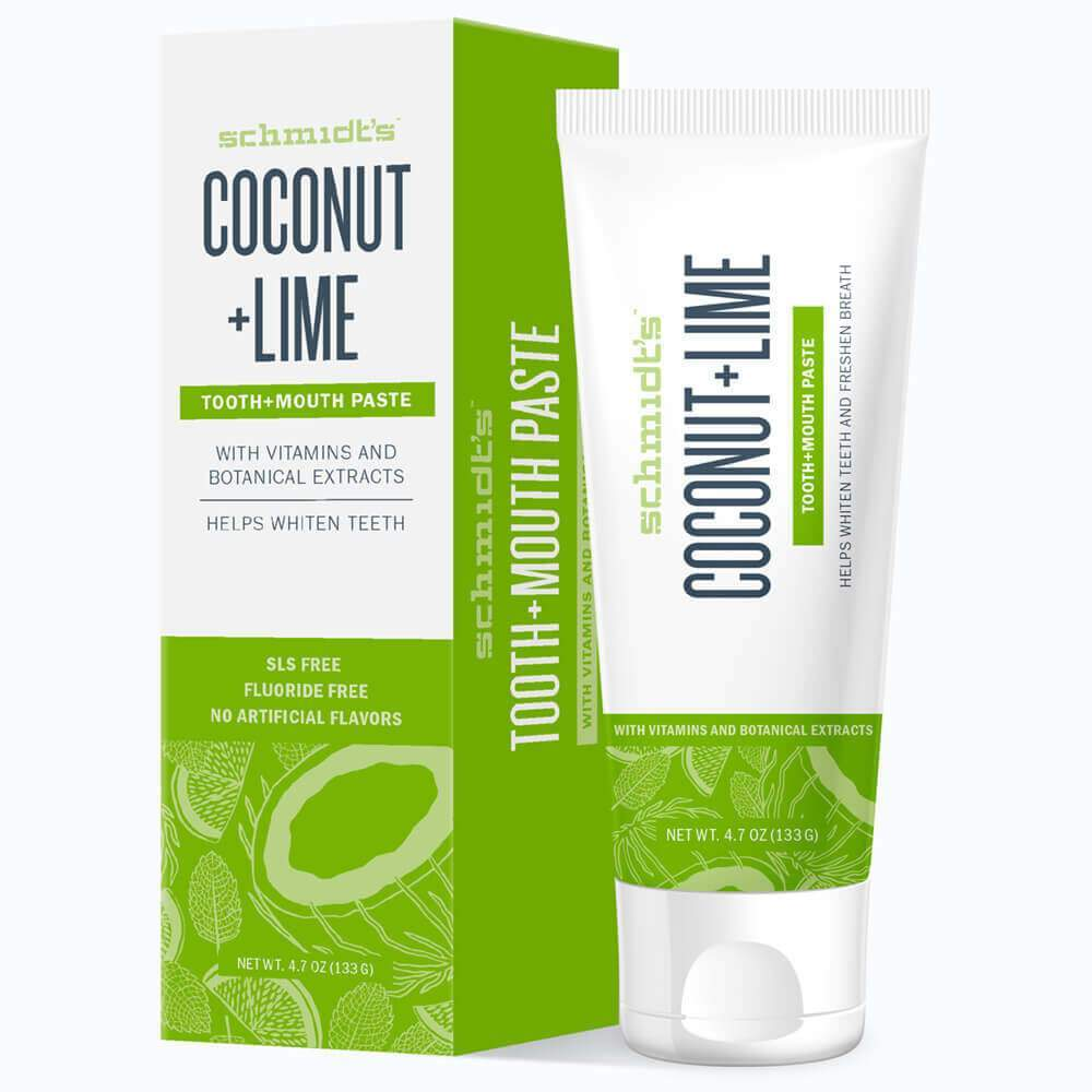 Schmidt's™ COCONUT + LIME Toothpaste - Christopher's Herb Shop