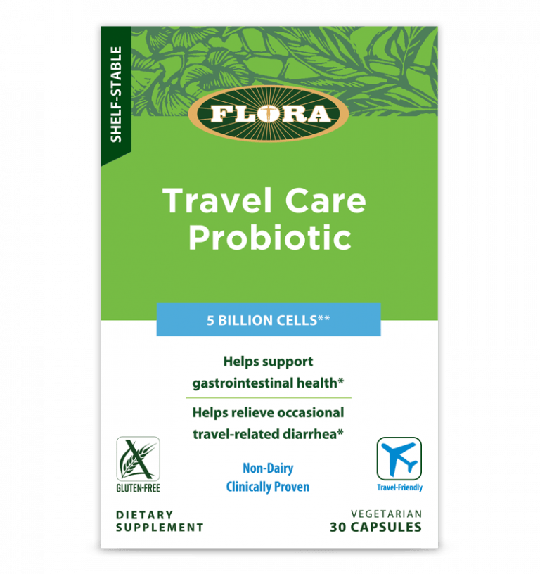 Flora® Travel Care Probiotic - 30 Capsules - Christopher's Herb Shop
