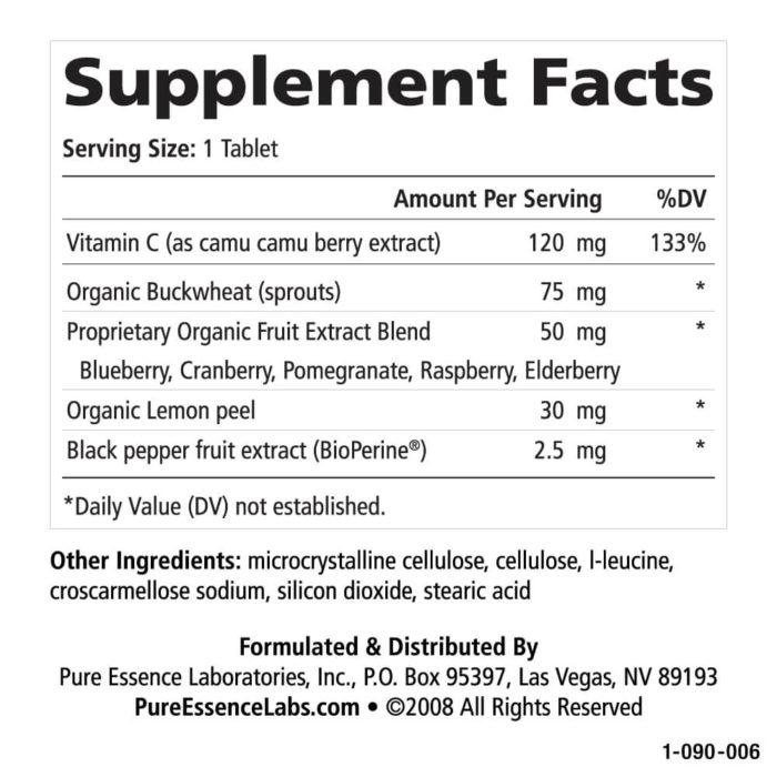 Whole-C™ 30 Tablets - Christopher's Herb Shop