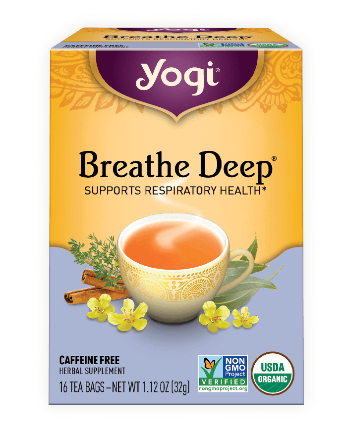 Yogi® Breathe Deep® Tea - Christopher's Herb Shop