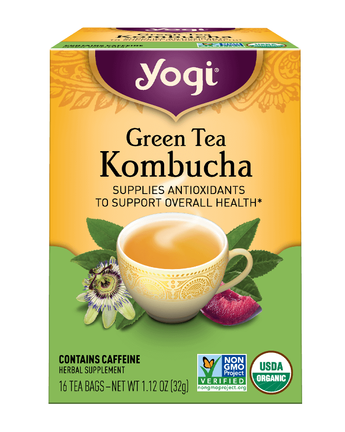 Yogi® Green Tea Kombucha Tea - Christopher's Herb Shop