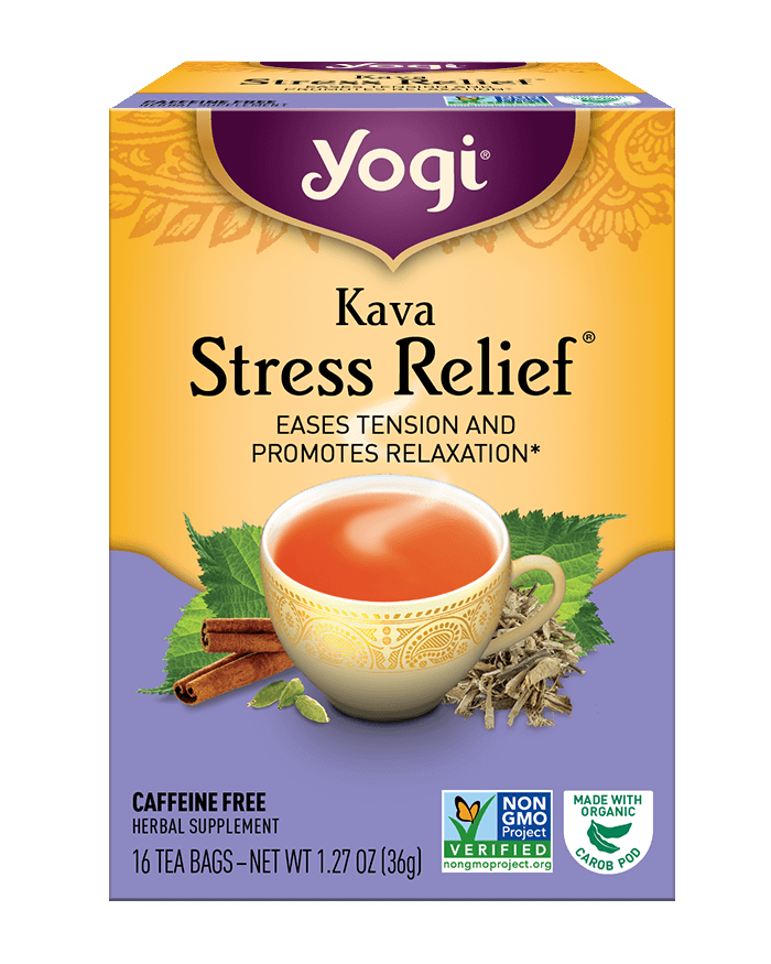 Yogi® Kava Stress Relief® Tea - Christopher's Herb Shop