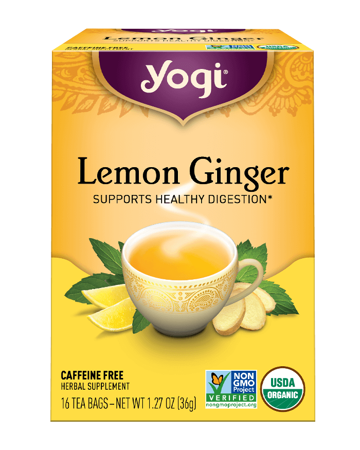 Yogi® Lemon Ginger Tea - Christopher's Herb Shop