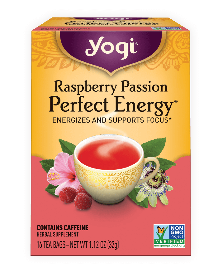 Yogi® Raspberry Passion Perfect Energy®Tea - Christopher's Herb Shop