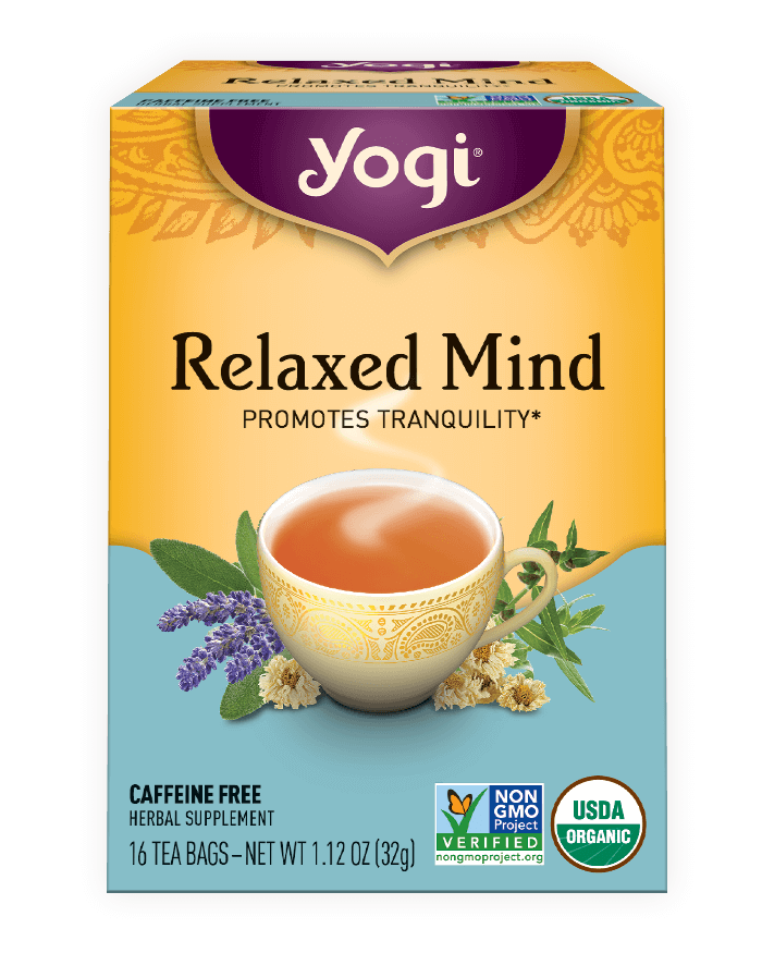 Yogi® Relaxed Mind Tea - Christopher's Herb Shop
