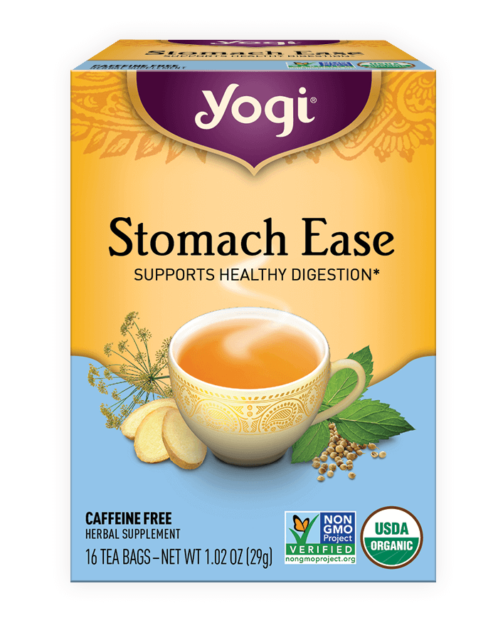 Yogi® Stomach Ease Tea - Christopher's Herb Shop