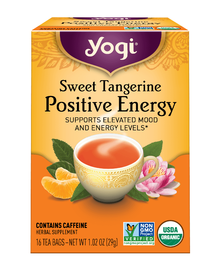Yogi® Sweet Tangerine Positive Energy Tea - Christopher's Herb Shop