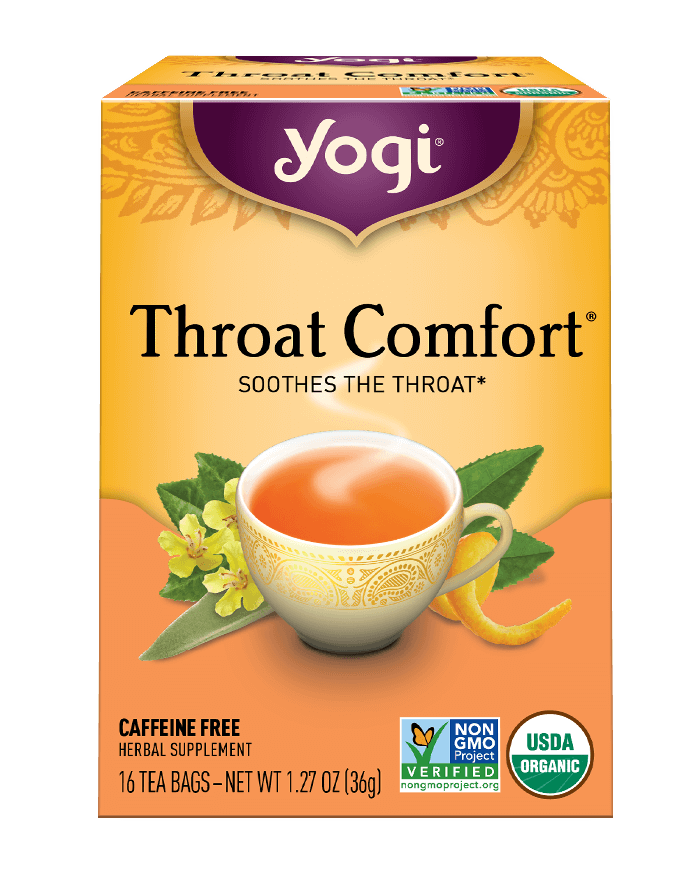 Yogi® Throat Comfort® Tea - Christopher's Herb Shop