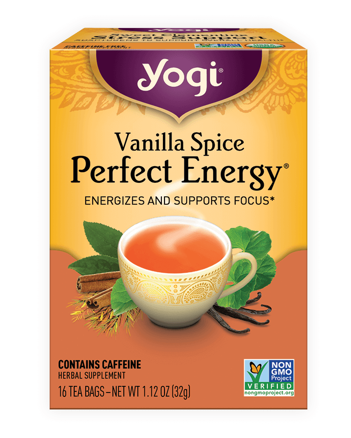Yogi® Vanilla Spice Perfect Energy® Tea - Christopher's Herb Shop