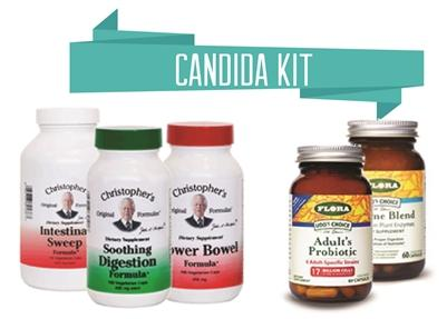 Candida Kit - Christopher's Herb Shop