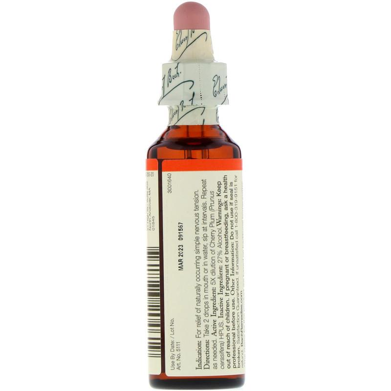 BACH® Cherry Plum 20 ml - Christopher's Herb Shop