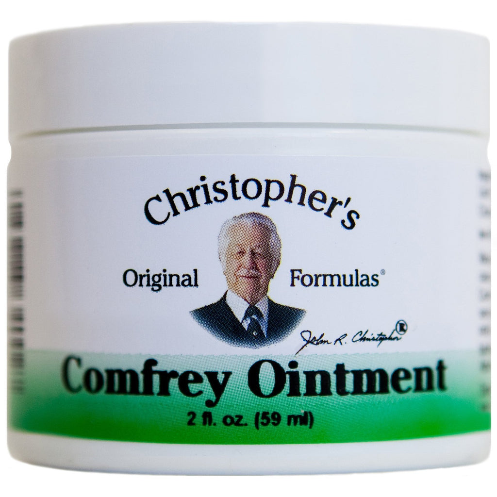 Comfrey Ointment 2 oz. - Christopher's Herb Shop