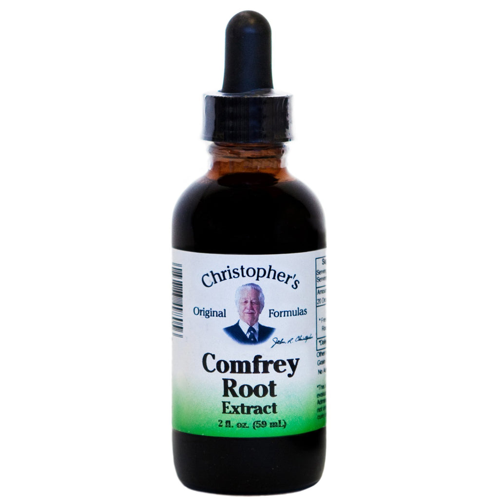 Comfrey Root - Glycerine Extract 2 oz. - Christopher's Herb Shop