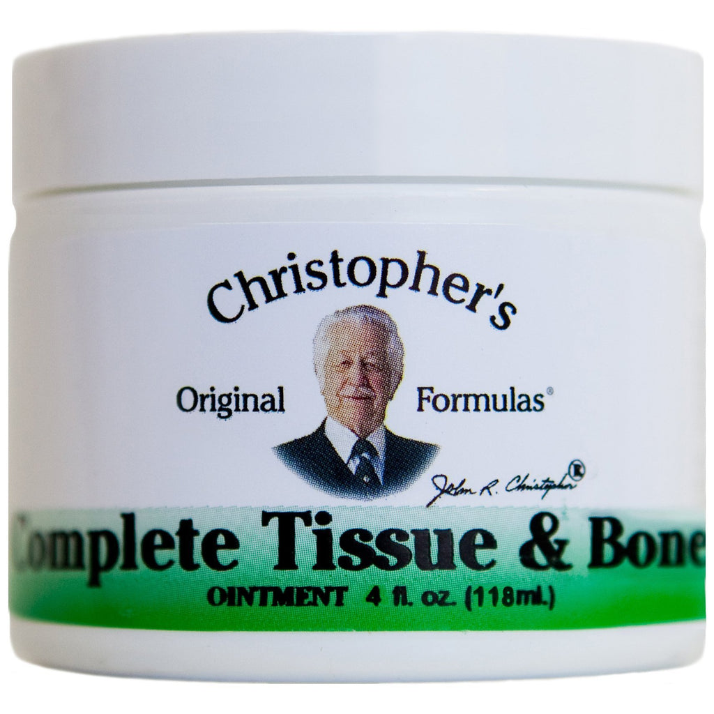 Complete Tissue & Bone - 4 oz. Ointment - Christopher's Herb Shop