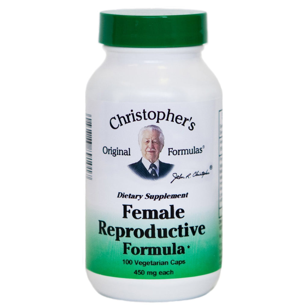 Female Reproductive Formula - 100 Capsules - Christopher's Herb Shop