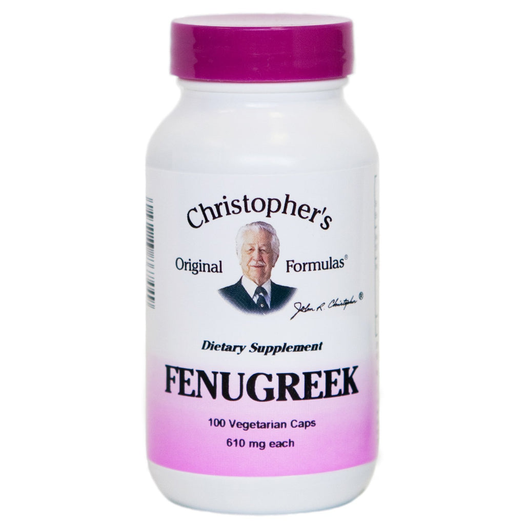 Fenugreek - 100 Capsules - Christopher's Herb Shop