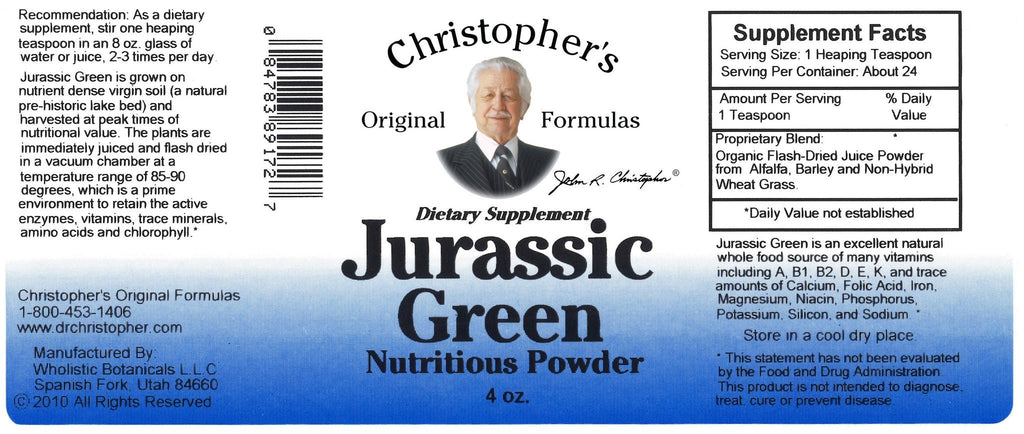 Jurassic Green - 4 oz. Powder - Christopher's Herb Shop