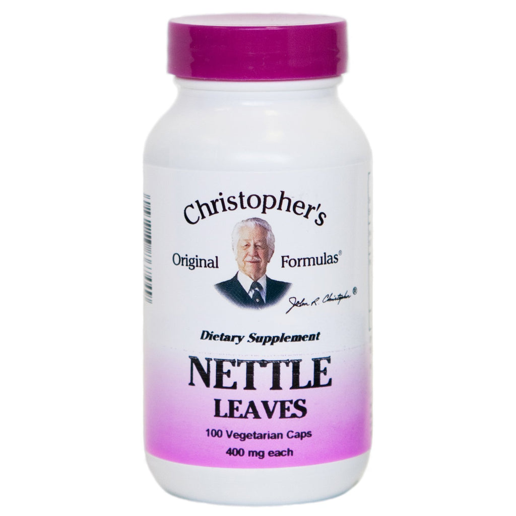 Nettle Leaf - 100 Capsules - Christopher's Herb Shop