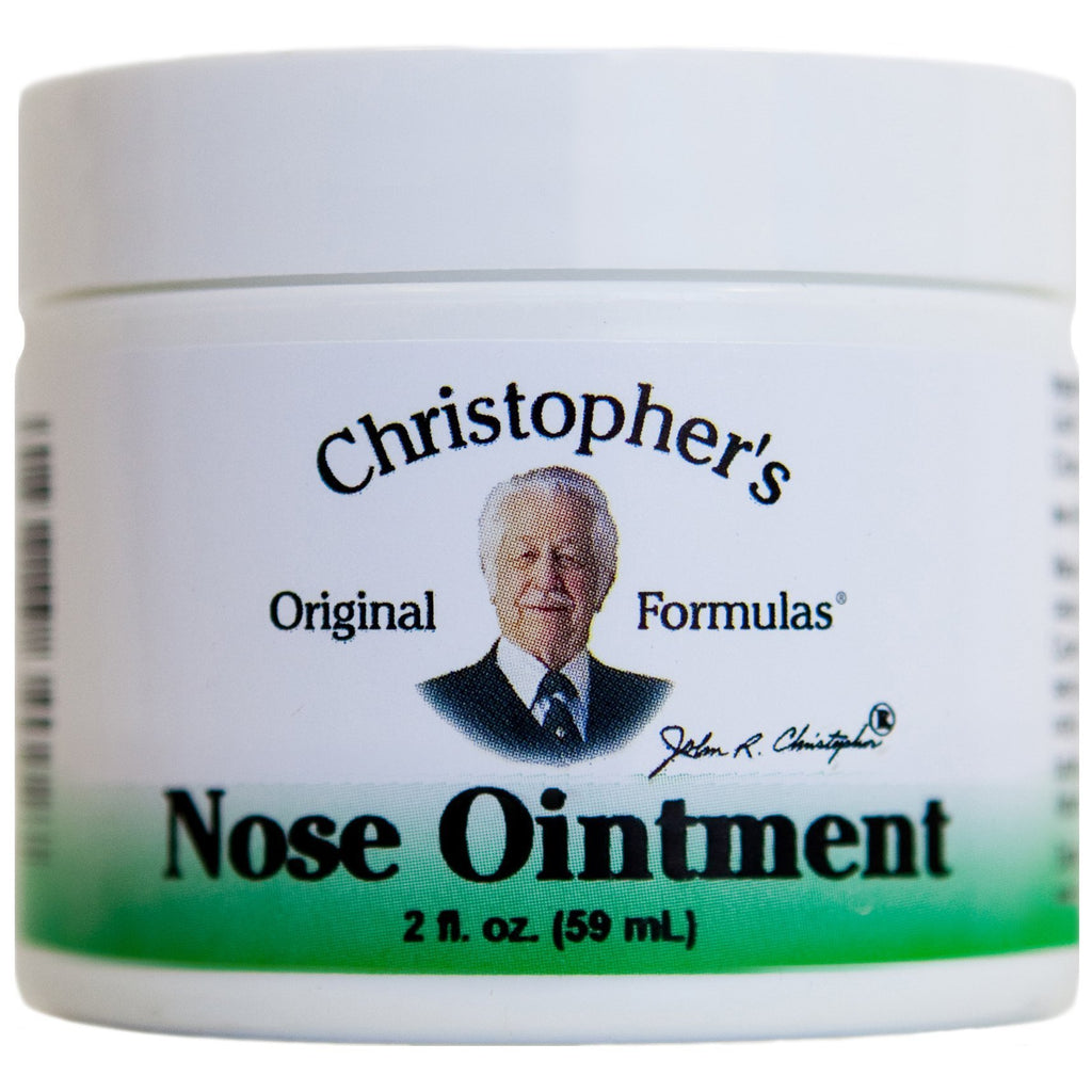 Nose Ointment - 2 oz. - Christopher's Herb Shop