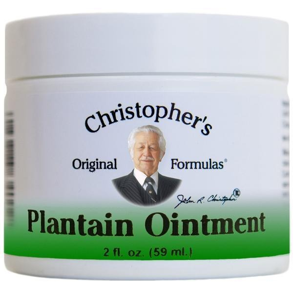 Plantain Ointment - 2 oz. - Christopher's Herb Shop