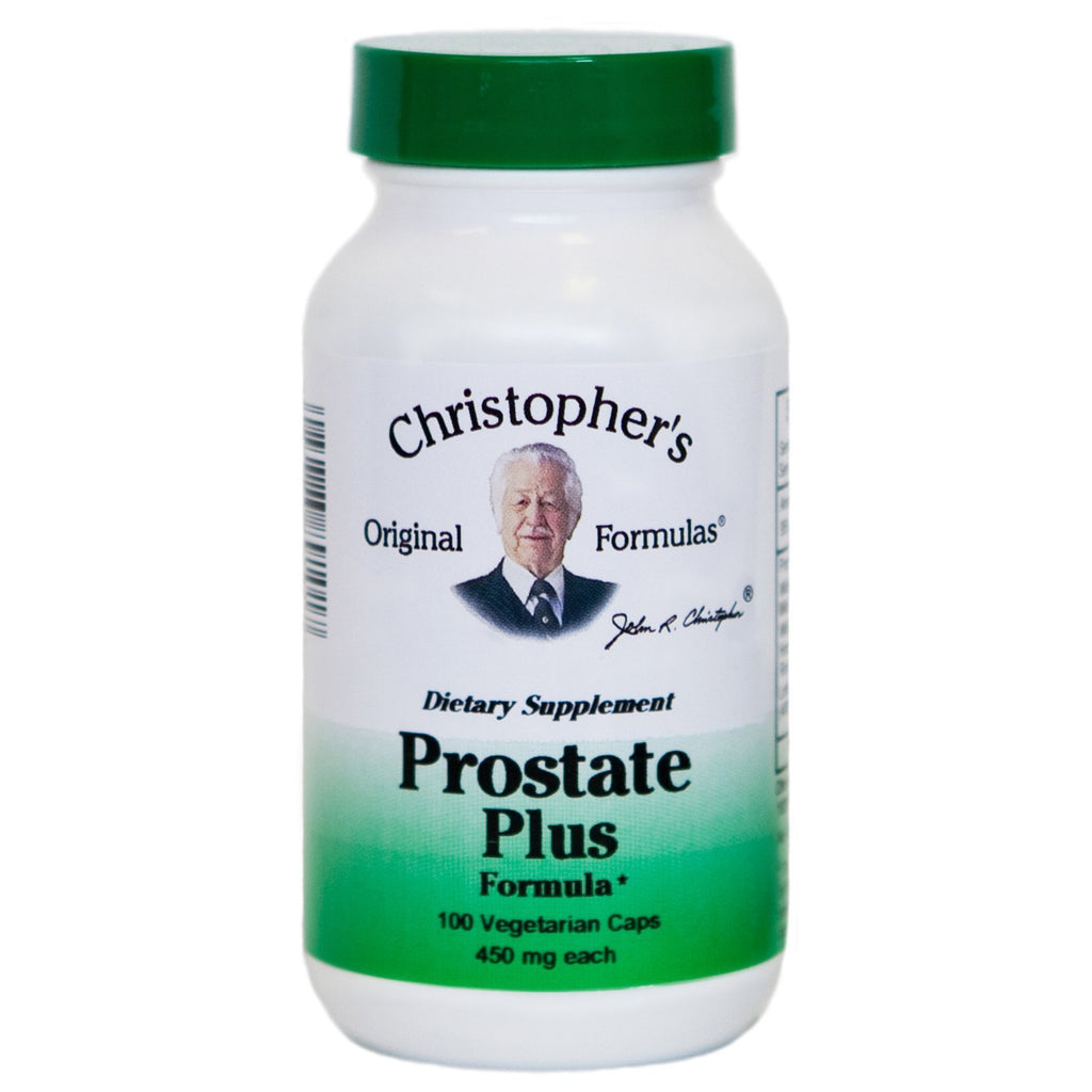 Prostate Plus - 100 Capsules - Christopher's Herb Shop