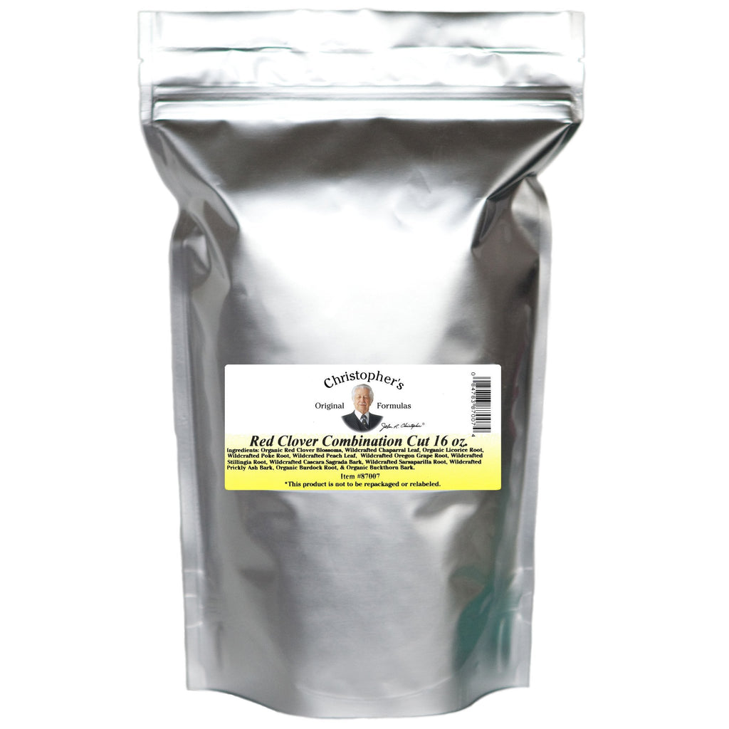 Blood Stream Formula (Red Clover Combination) -Bulk 1 lb. Cut/Sifted - Christopher's Herb Shop