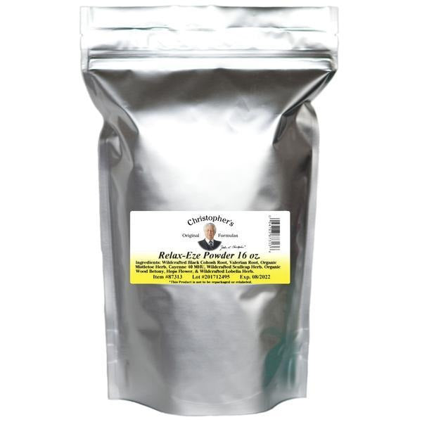 Relax-Eze Formula - Bulk 1 lb. Powder - Christopher's Herb Shop