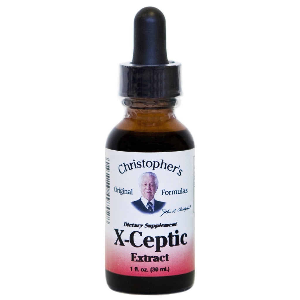 X-ceptic Formula - 1 oz. Alcohol Extract - Christopher's Herb Shop