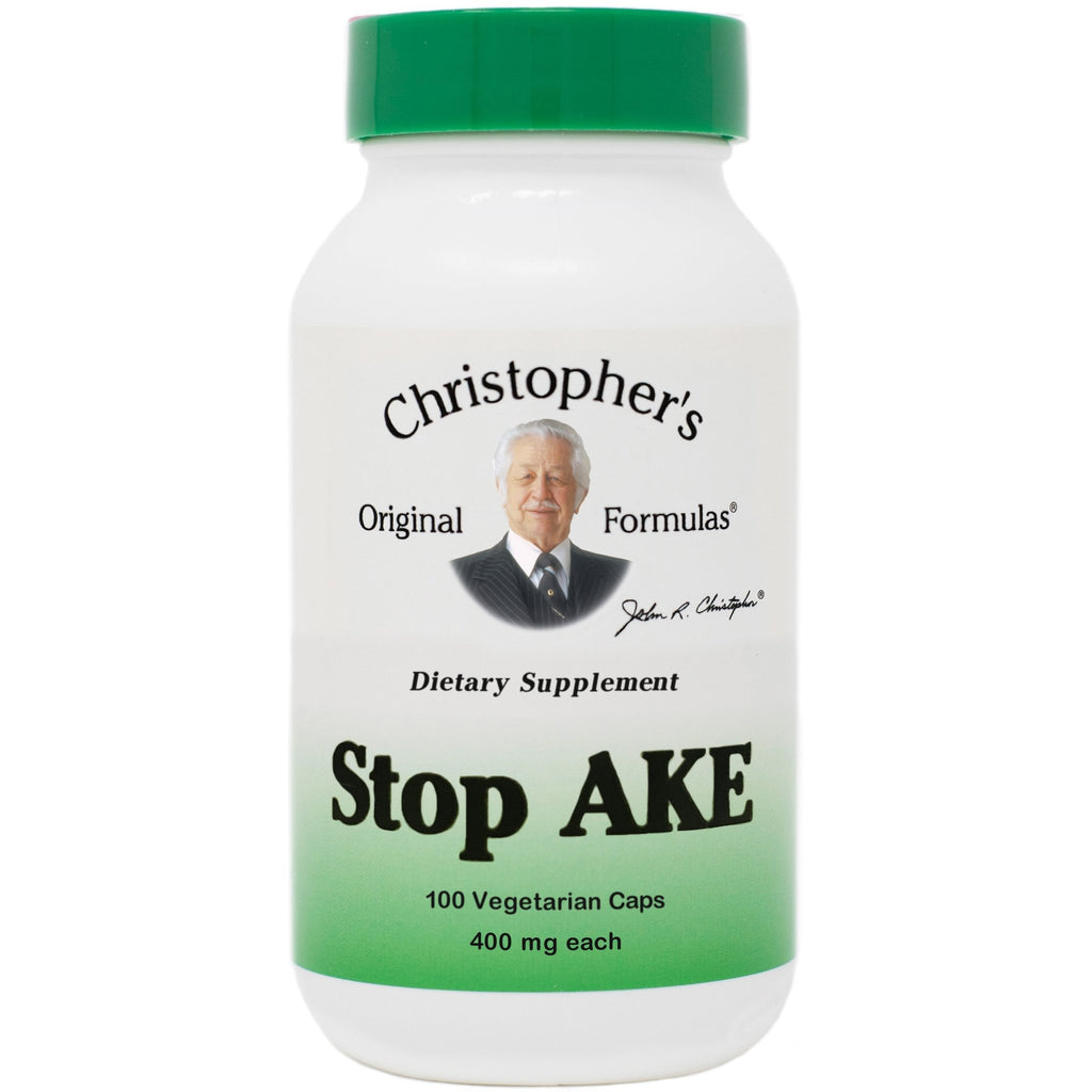 Stop-AKE - 100 Capsules - Christopher's Herb Shop