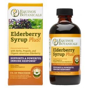 Equinox Elderberry Syrup Plus! - Christopher's Herb Shop