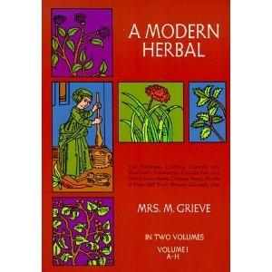 A Modern Herbal Volume I - Christopher's Herb Shop