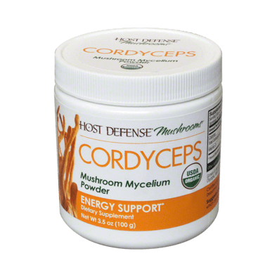 Host Defense® Cordyceps 3.5 oz Powder - Christopher's Herb Shop