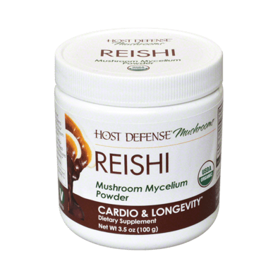 Host Defense® Reishi 3.5 oz Powder - Christopher's Herb Shop