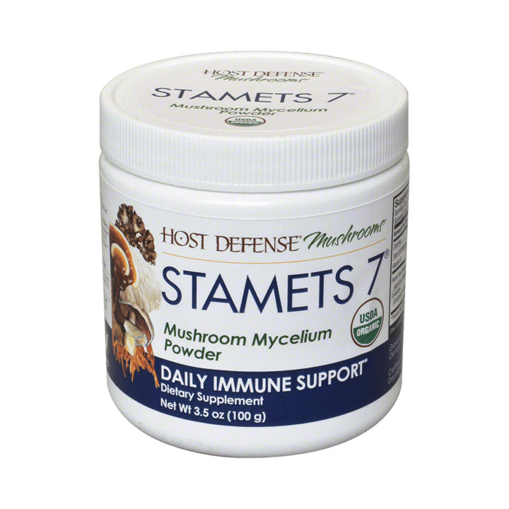 Host Defense® Stamets 7® 3.5 oz Powder - Christopher's Herb Shop