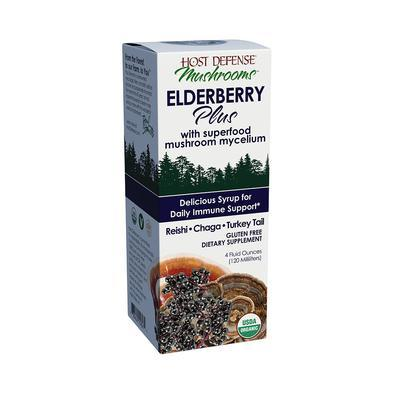 Host Defense® Elderberry Plus Syrup - 4 fl oz - Christopher's Herb Shop