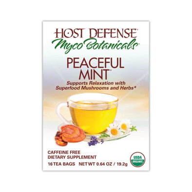 MycoBotanicals® Tea - Peaceful Mint™ - Christopher's Herb Shop