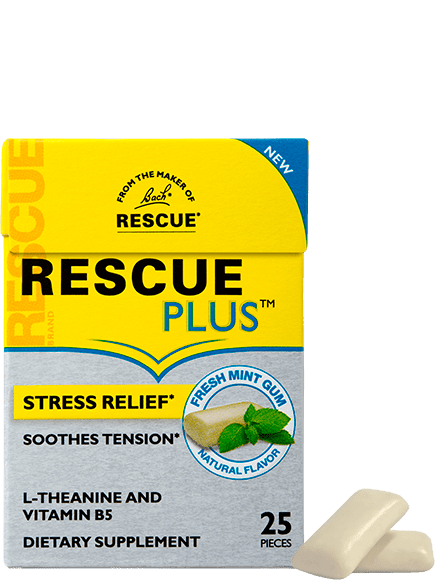 RESCUE PLUS® Gum - Christopher's Herb Shop