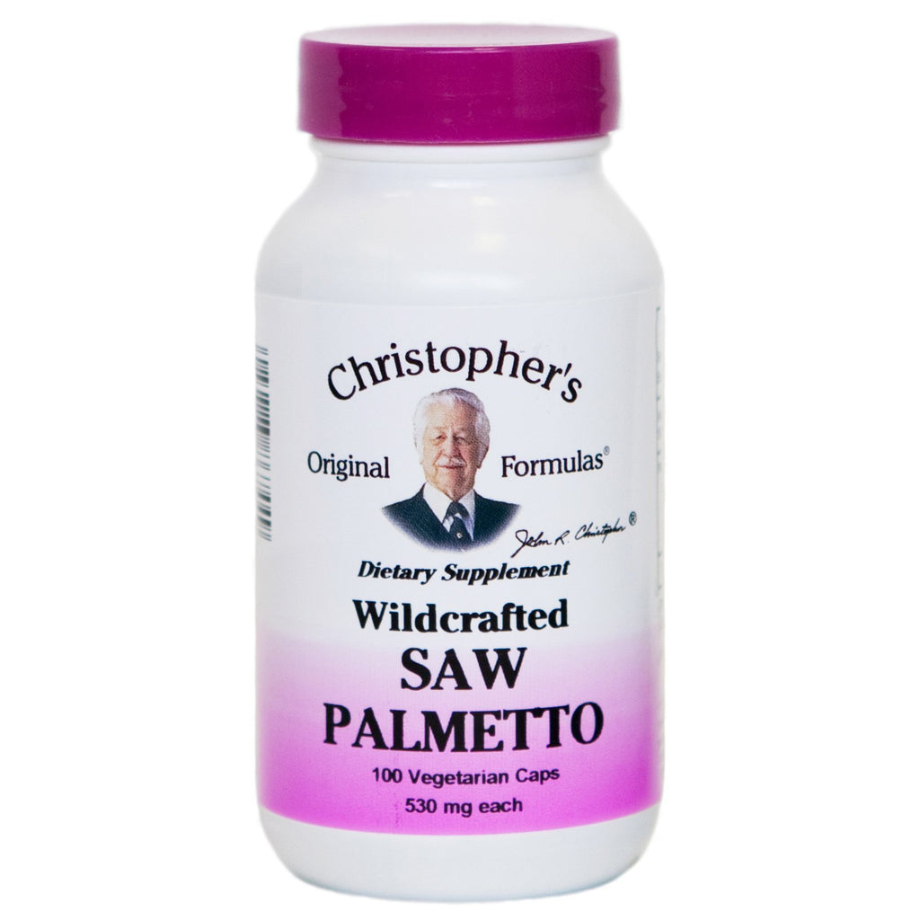 Saw Palmetto Berry - 100 Capsules - Christopher's Herb Shop