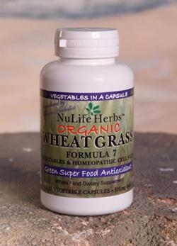 Wheat Grass Formula 7 - 150 Capsules - Christopher's Herb Shop
