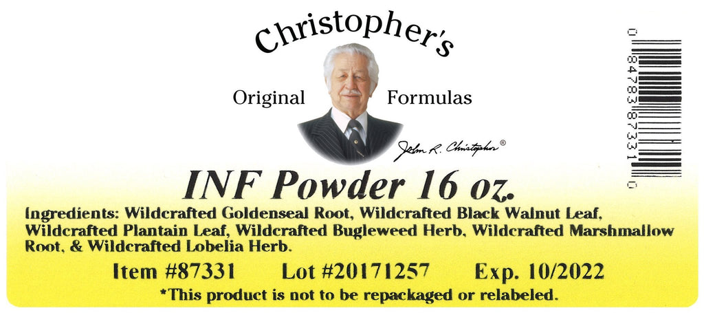 X-INFX - Bulk 1 lb. Powder - Christopher's Herb Shop